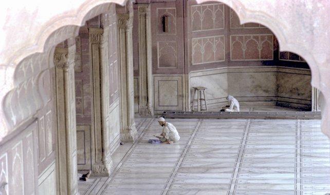 Delhi / mosquée Jama Masjid